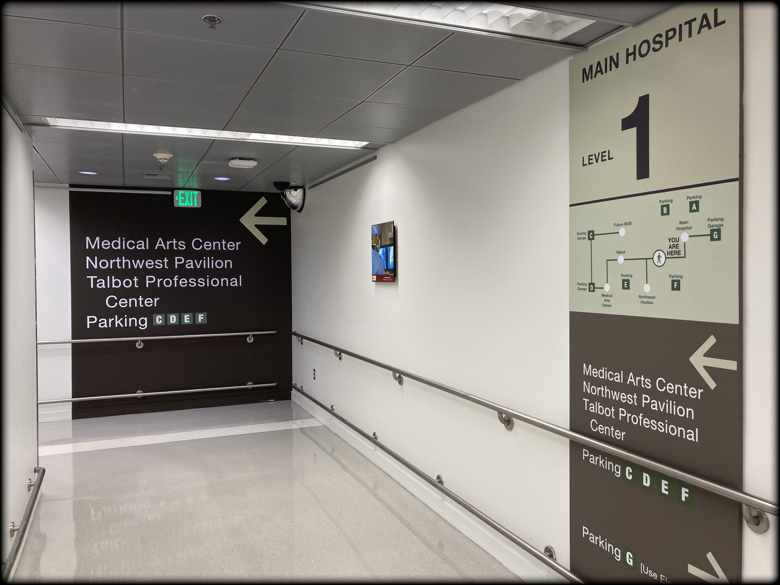 wayfinding sign directory sign systems commercial business directory